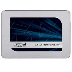 CRUCIAL SSD disk MX500 500GB + adapter