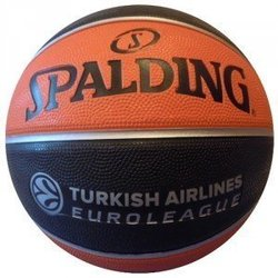 Spalding košarkaška lopta TF150S replica euroleague, 5