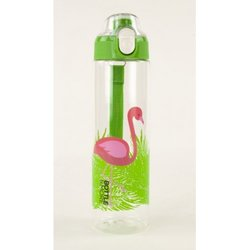 BOTTLE MORE BIDON ZA VODO 0,7L ZELEN FLAMINGO