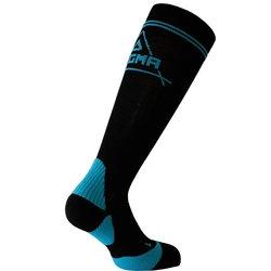 Kompresijske čarape Dogma Gazelle crna/plava 44-45