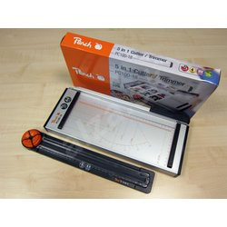 PEACH rezač papira A4 + ravnalo za rezanje PC100-18