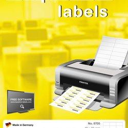 Etikete TOPSTICK 105X70 A4/8 1/100