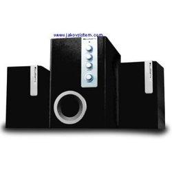 BLUEBERRY zvučnici WOODPECKER SW-M30 BLACK