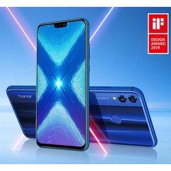 HONOR mobilni telefon 8X 4GB+64GB Blue