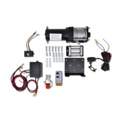 VIDAXL električno vitlo  s bežičnim daljinskim upravljačem 12V 1360 kg