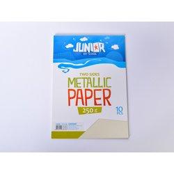 Papir metalik A4 250g 1/10, KREM