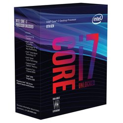 INTEL Core i7-8700K 3,7/4,7GHz 6-core 12MB LGA1151 BOX procesor