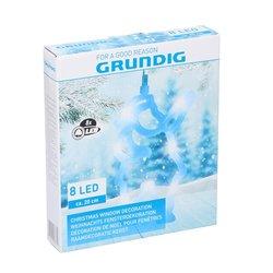 Grundig - LED Božični okrasek 8xLED/3xAAA Božiček