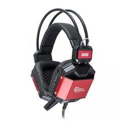 Slušalice+mikrofon WHITE SHARK GH-1646 Jaguar - Black/Red GH-1646 BR