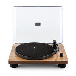 auna TT Classic WD, drveni furnir, retro gramofon, USB, linijski izlaz, zvučnik