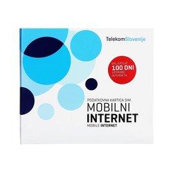 Telekom Slovenije Predplačniški mobilni internet SIM 100 DNI