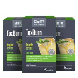 SENSILAB napitak za topljenje masnoća SlimJOY ToxBurn, 3x