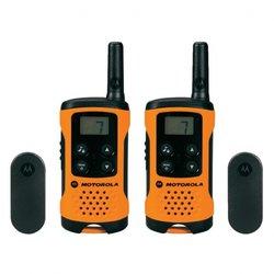 Motorola PMR radijska postaja MotorolaTLKR T41, oranžne barve, 2-delni komplet, 188036