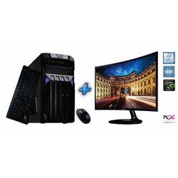 PCX računalnik EXAM GAMING 1.33 (Core i3 3.6GHz, 8GB, 1120GB, NV1050I 2GB) + LED monitor Samsung 23.5