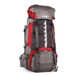 KLARFIT planinski ruksak Heyerdahl 2014, 70 l, crveno-sivi