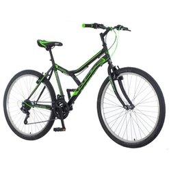 KPC Legion 26 muški MTB bicikli, crni-zeleni