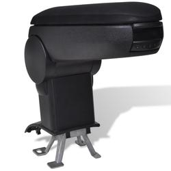 vidaXL Crni naslon za ruku VW New Polo (2011)
