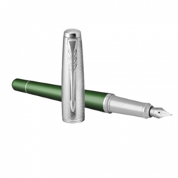 Nalivno pero Parker Premium  Zelena CT