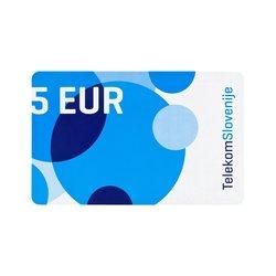 TELEKOM SLOVENIJE vrednostna kartica MOBI 5 EUR