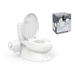 Dolu Noćna posuda WC školjka sa zvukom, Bijela