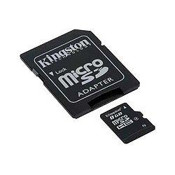memorijska kartica KINGSTON SDC4/48B, Micro SDHC, 8 GB + adapter