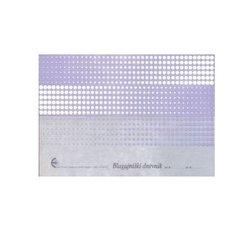 Obrazec - blagajniški dnevnik (6300 B), 2 kosa