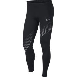 Nike M NK RUN TIGHT GX, muške helanke za trčanje, crna