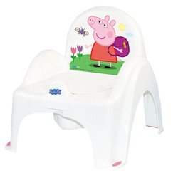 Peppa Pig glazbena kahlica/stolica White/Pink