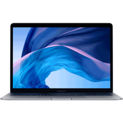 APPLE prenosnik MacBook Air 13.3 (MVFH2D/A), siv