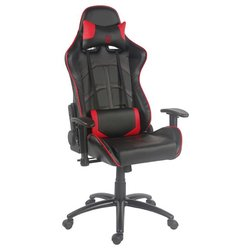 LC POWER gaming stol LC-GC-1, rdeč-črn