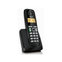 Gigaset A220 brezžični (DECT) telefon, črn