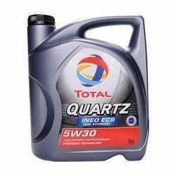 Total motorno ulje Quartz Ineo ECS 5W-30 5L DPF