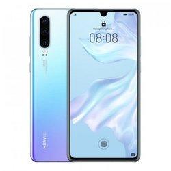 HUAWEI mobilni telefon P30 6GB/128GB Dual SIM, kristalno bel