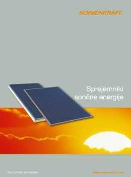 Sonnenkraft katalog - Solarni sistemi