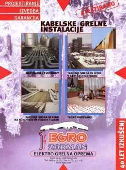 Egro Zorman katalog