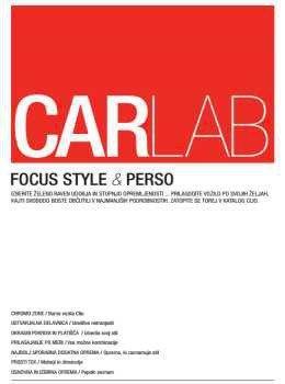 CARLAB katalog - Renault Clio in oprema