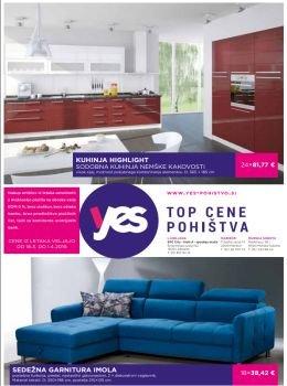 Yes-pohištvo katalog
