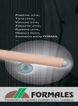 Formales katalog - Lesene letve