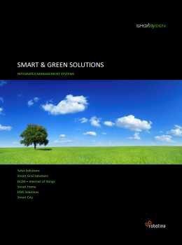 Smartgreen katalog - pametne instalacije