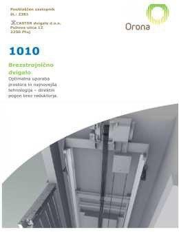 Caster Dvigala katalog