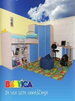 Barvica katalog - otroške sobe