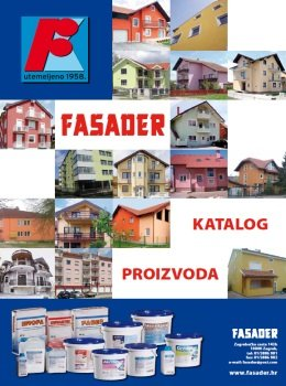 Fasader katalog