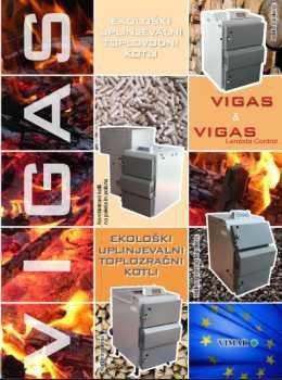 Vigas katalog - uplinjevalni kotli