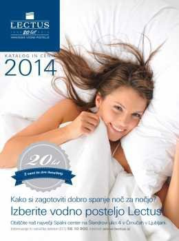 Lectus katalog - vodne postelje