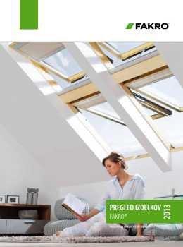 Fakro katalog - strešna okna