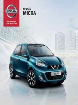 Nissan Micra katalog