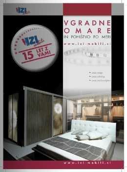 IZI Mobili katalog - pohištvo po meri