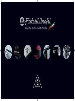 Fratelli Onofri katalog