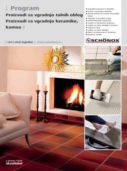 Schönox katalog - gradbeni materiali