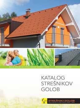 Strešniki Golob katalog